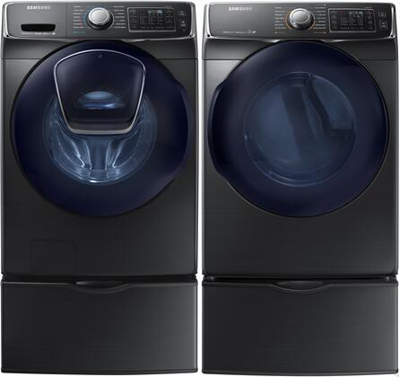 Samsung Appliance 691544 Black Stainless Steel Washer and Dr