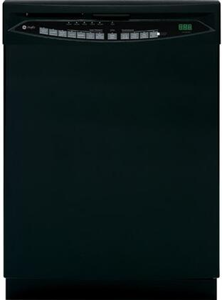 GE PDW7800PBB  Built-In Full Console Dishwasher with in Black