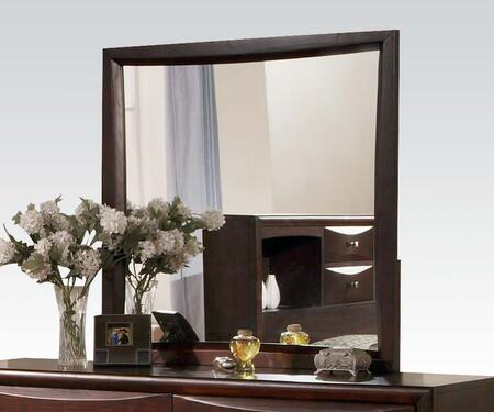 Acme Furniture 07410 Manhattan Series Rectangular Portrait Dresser Mirror