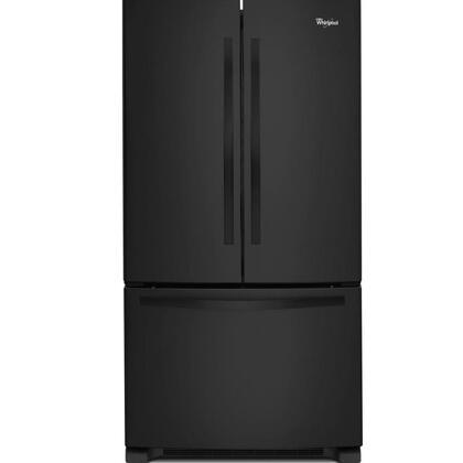 "Whirlpool WRF532SM 33"" French Door Refrigerator with 22 cu. ft. Capacity, Accu-Chill System, Factor Installed Ice Maker, Adaptive Defrost, Energy Star Qualified, and LED Interior Lighting in"