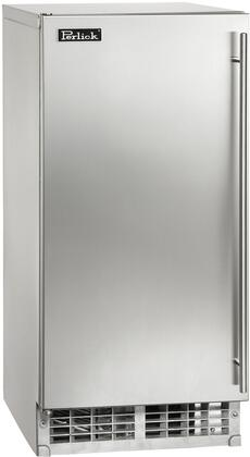 "Perlick H50IMS-ADX 15"" ADA Compliant Clear Ice Maker with 27 lb. Storage Capacity, 55 lbs. Production Capacity per 24 Hours and"