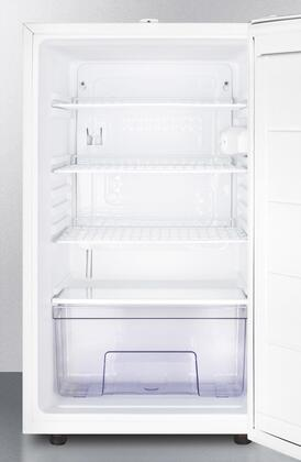 """AccuCold FF511LBI7 20"""" Medical, Commercial Freestanding or Built In Compact Refrigerator with 4.1 cu. ft. Capacity, Door Lock, Hospital Grade Cord, Crisper and Interior Lighting:"""