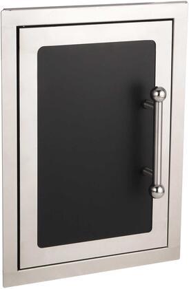 FireMagic 53920HSx Echelon Black Diamond Series Single Access Door, in Black
