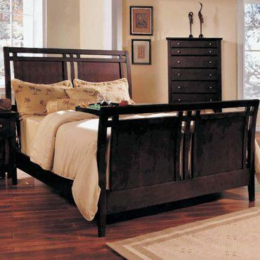 Yuan Tai GV3500Q Giovanna Series  Queen Size Sleigh Bed