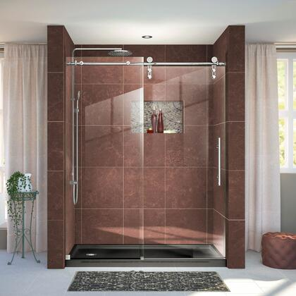 DreamLine Enigma Z Shower Door 36 60x76 BlackBase L 08