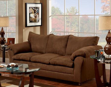 Chelsea Home Furniture 471150S Gail Sofa with 16 Gauge Border Wire, Sinuous Springing System, Solid Kiln Dried Hardwoods and Engineered Products in