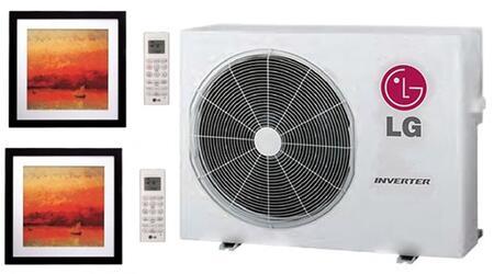 LG 704087 Dual-Zone Mini Split Air Conditioners
