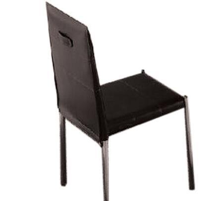 VIG Furniture VGBNCY72BLK Modrest Series Modern Metal Frame Dining Room Chair
