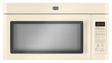 Maytag MMV5208WQ 2.0 cu. ft. Over the Range Microwave Oven with 300 CFM, 1100 Cooking Watts, in Bisque