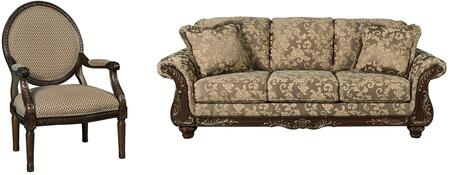 Milo Italia MI5301SACTOPA Ashlynn Living Room Sets