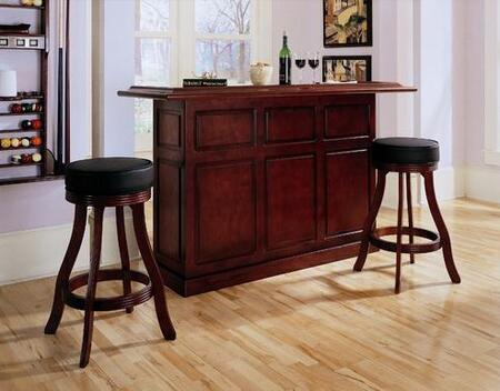 "American Heritage 713593I Lexington Series 72"" Home Bar,"