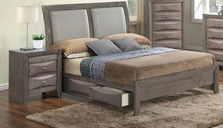 Glory Furniture G1505DDQSB2N G1505 Queen Bedroom Sets