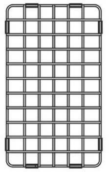 Franke CQ24-31 Stainless Steel Shelf Grid for  CQX11024