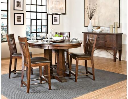 Intercon Furniture HYTA5454460GRSEC Hayden Dining Dining Roo