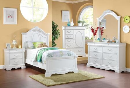 Acme Furniture 30235F5PC Estrella Full Bedroom Sets