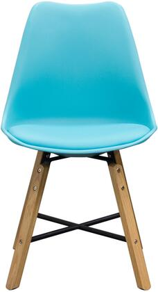 Diamond Sofa CODACHTQ Coda Series Contemporary Wood Frame Dining Room Chair