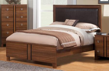 Sandberg 339A Donatella Series  Queen Size Panel Bed