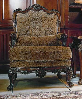 Yuan Tai CE8000A Celebrity Series Fabric Chair with Wood Frame