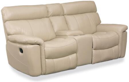 Taupe Motion Three Piece Motion Entertainment Sofa
