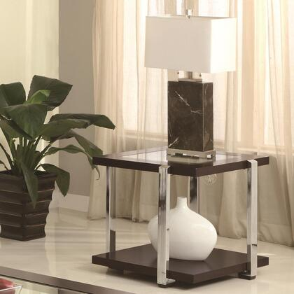 Coaster 70154 Contemporary Wood  End Table