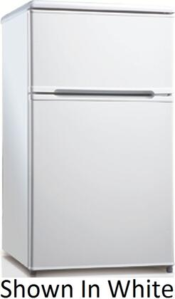 Equator RF114F31B  Refrigerator with 3.1 cu. ft. Capacity in Black