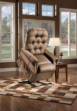 MedLift 2553AALB Contemporary Fabric Wood Frame  Recliners