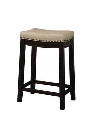 98325WAL 01 KD ALLURE FABRIC TOP STOOL 24