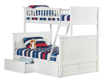 Atlantic Furniture AB59212  Twin over Full Size Bunk Bed