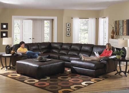 "Jackson Furniture Lawson Collection 4243-62-30-76- 160"" 3-Piece Sectional with Left Arm Facing Section with Corner, Armless Sofa and Right Arm Facing Chaise in"