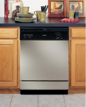 "Hotpoint HDA3640DSA 24"" Built-In Full Console Dishwasher"
