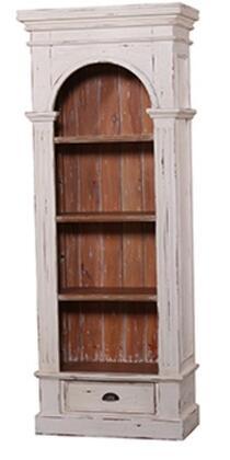 Bramble 23759 Roosevelt Series Wood 3 Shelves Bookcase