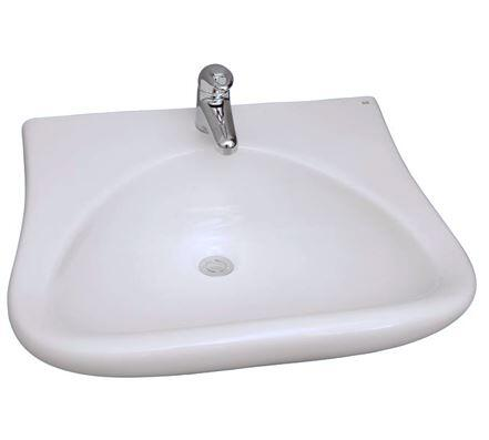 Barclay 4908WH White Wall Mount Sink