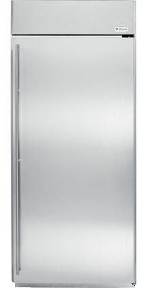 GE Monogram ZIRS360NXRH Monogram Series Counter Depth All Refrigerator with 21.5 cu. ft. Capacity in Stainless Steel