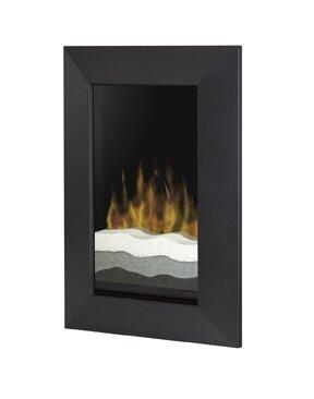 Dimplex V1525BTBLK Wall Mountable Electric Fireplace