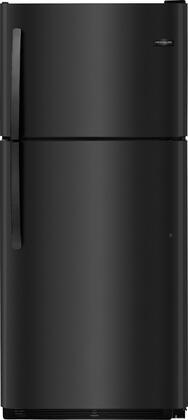 "Frigidaire FFTR2021Tx 30"" Top Freezer Refrigerator with 20.4 cu. ft. Total Capacity, 2 Full Width Glass Refrigerator Shelves, 1 Full Width Wire Freezer Shelf, Reversible Door, and 2 Crisper Drawers, in"