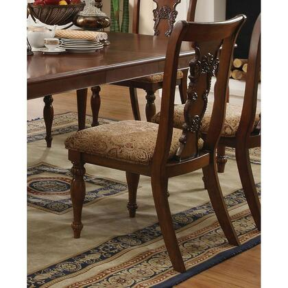 Coaster 103512 Addison Series Traditional Fabric Wood Frame Dining Room Chair
