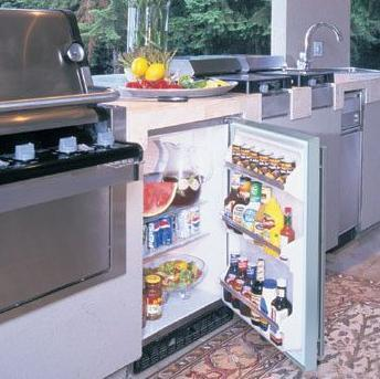 """Marvel 60ARMSSFL Built In All Refrigerator Yes 6.1 cu. ft. No 23.875"""" Compact Refrigerator 
