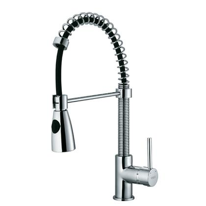 "Vigo VG02003 19.5"" High Pull-Out Spray Kitchen Faucet:"