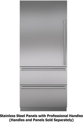 Sub Zero Designer Stainless Steel Panels With Professional Handles Configurations