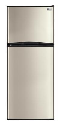 Frigidaire FFPT10F3NM Freestanding Top Freezer Refrigerator with 9.9 cu. ft. Total Capacity 2 Glass Shelves 2.6 cu. ft. Freezer Capacity