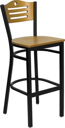 Flash Furniture XUDG6H3BSLATBARNATWGG Hercules Series Not Upholstered Bar Stool