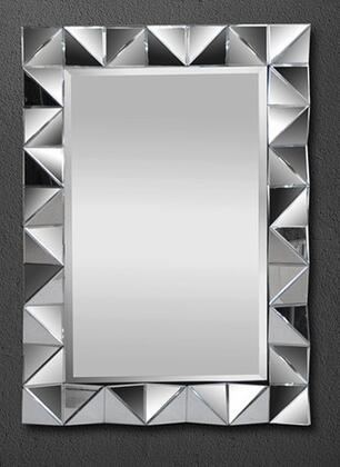 VIG Furniture VGMCGC9125 Modrest Warwick Series Rectangular Portrait Wall Mirror