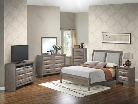 Glory Furniture G1505ATBCHDMNTV2 G1505 Twin Bedroom Sets