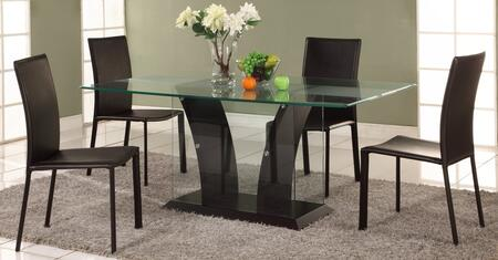 Chintaly FLAIRDTSET Flair Dining Room Sets