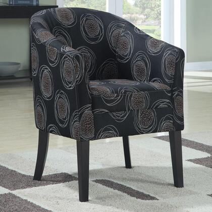 Coaster 900436 Club Fabric Wood Frame Accent Chair