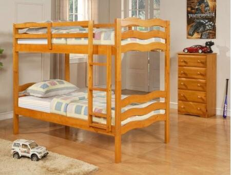 Donco 0105HTT  Twin Size Bunk Bed