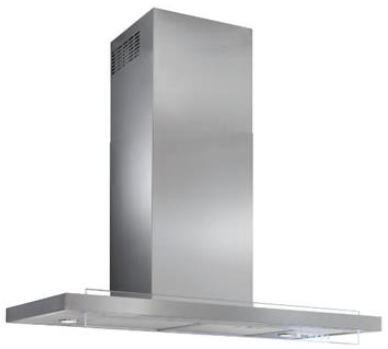 """Best WC45 36"""" Harmonia Wall Mount Chimney Hood with Infrared Heat Sentry, Mesh Grease Filter, Delay Off, Filter Clean Reminder, LED Lights, and 4-Speed Electronic Controls: Stainless Steel"""