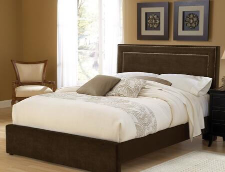 Hillsdale Furniture 1554BCKRA Amber Series  California King Size Panel Bed