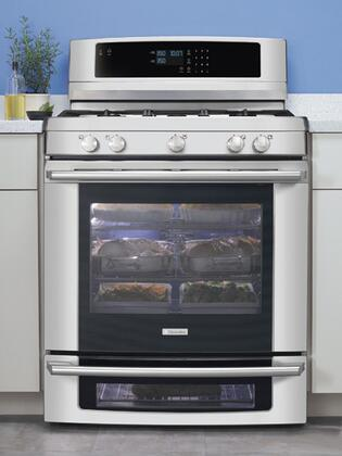 Electrolux EW3LGF65GS Wave-Touch Series Gas Freestanding