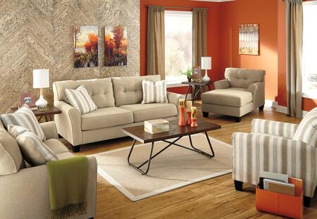 Milo Italia MI1397QSSLCHACKHAK Lizeth Living Room Sets
